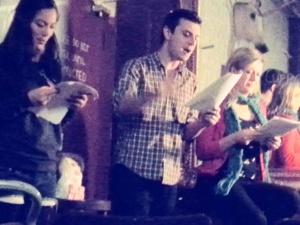 The Price performed by Chloe Ewart, Lorna Jones, James Naylor. Theatre Uncut