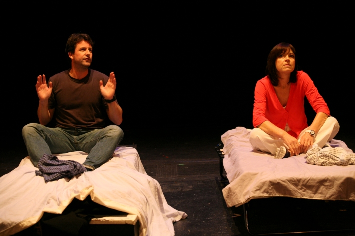 Robert Reina and Jan Hirst in Room for Improvement by Andrew Turner